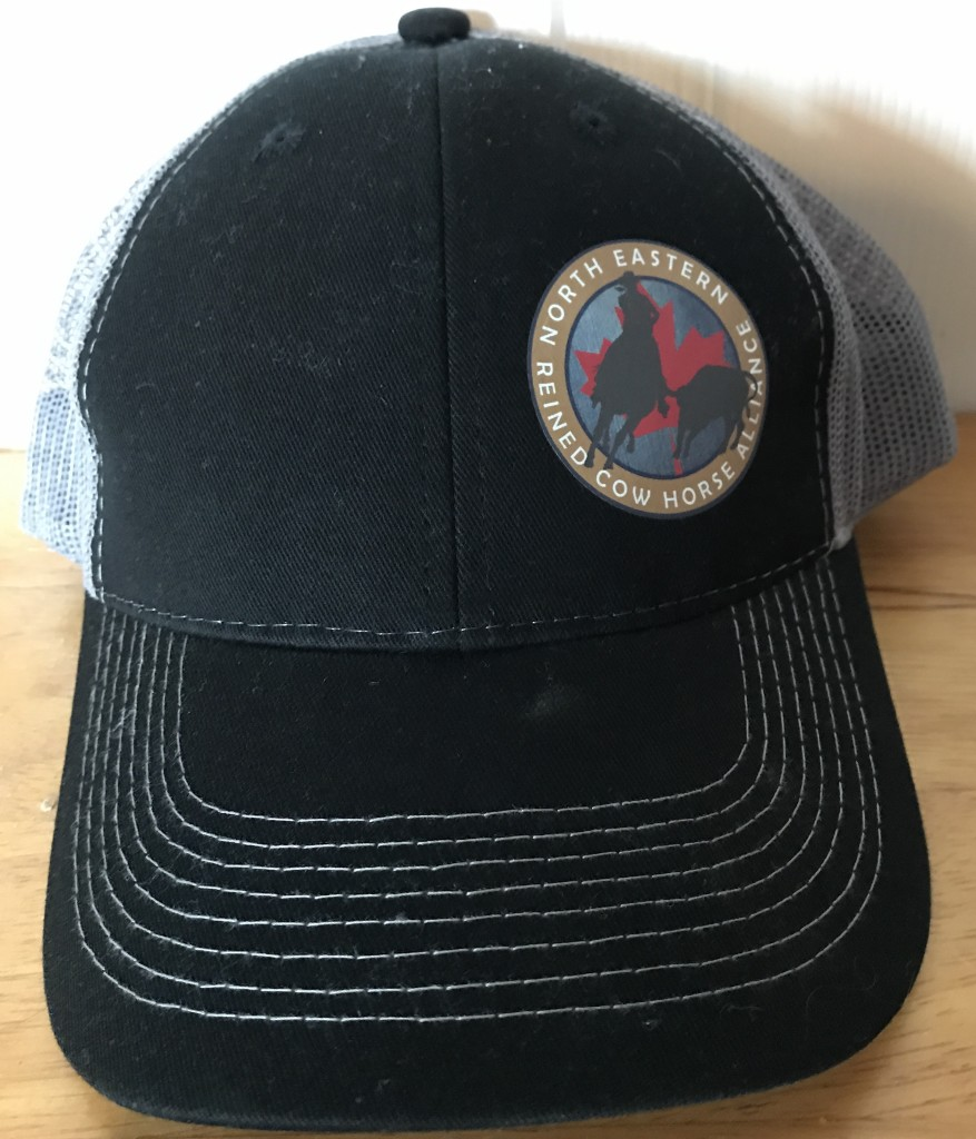 Hat with logo-front view